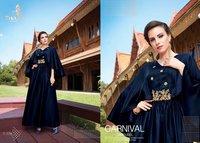 Party Wear Heavy Designer Georgette Kurtis