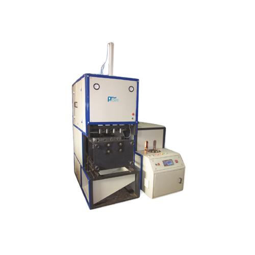 2 Cavity Semi Automatic Pet Blowing Machine