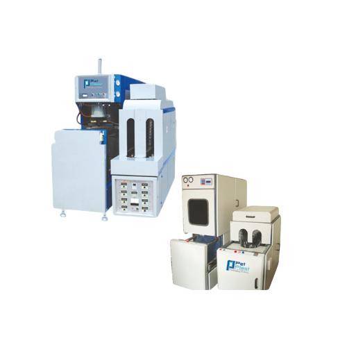 4 Cavity Auto Drop PET Blowing Machine