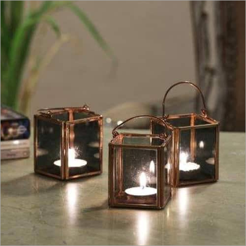 Glass Tealight Holder