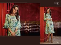 Rayon Digital Printed Kurtis