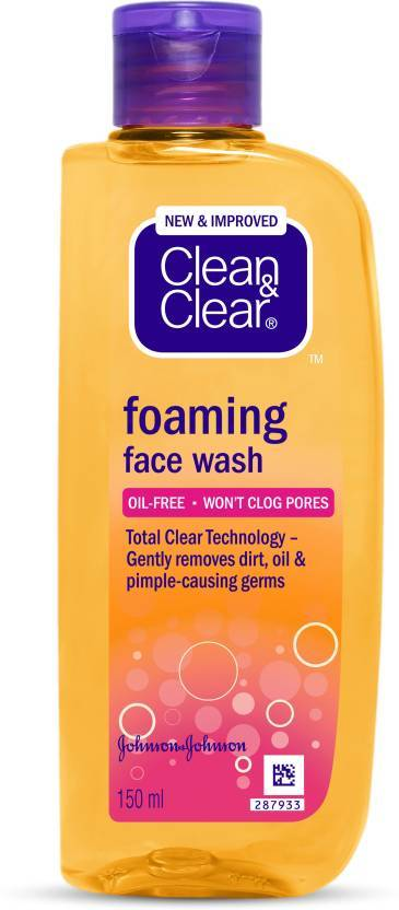 Clean & Clear Foaming Face Wash  (150 ml)