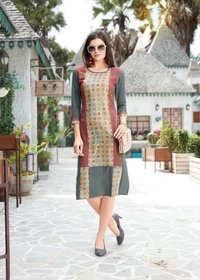Digital Printed ladies kurtis