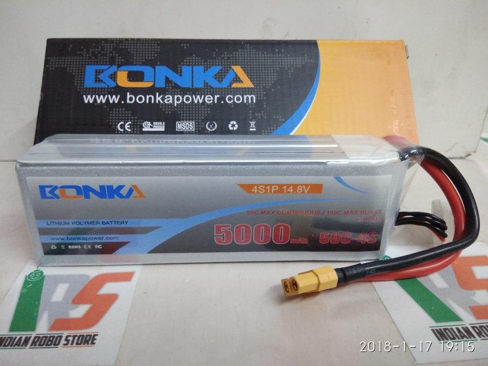 Bonka Lipo 5000mah 50C 14.8V (4S) Battery