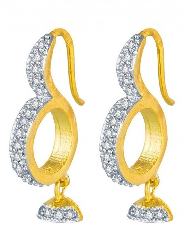 Gold Plated Alloy Earring