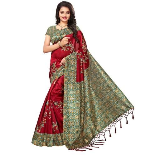 4005130f12 Printed Silk Sarees In Surat, Gujarat - Dealers & Traders