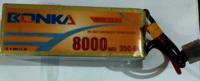 Bonka Lipo 8000mah 35c 22.2v (6s) Battery