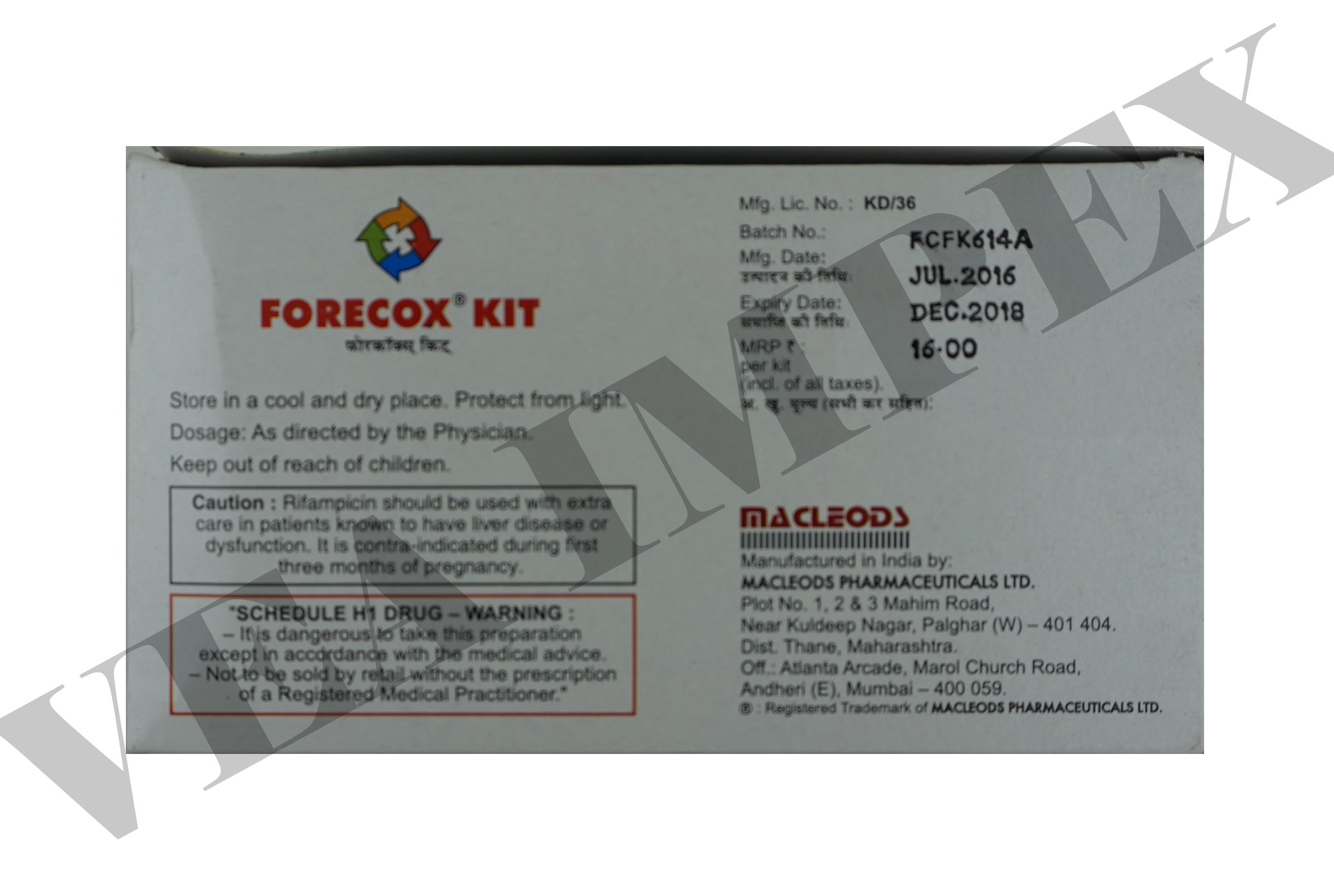 Forecox Kit  mg