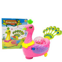 Electric Peacock Toy