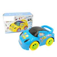 Plastic toy car