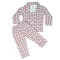 Night Suit for Kids - Watermelon print - 3 colours
