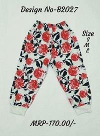 Kids Pajamas - Flower Design - 3 colours