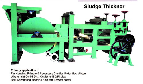 Sludge Thickeners for ETP