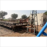 Tress Bench for concrete pole mould