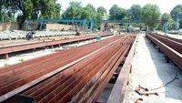 Tress Bench for concrete pole mould