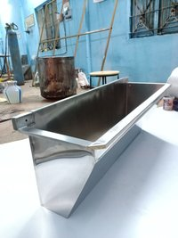 Commercial hand washing sink