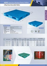 4 Way Entry Non Reversible Pallets