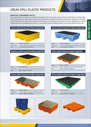Drum Spill Plastic Products
