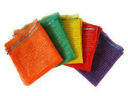 Multi Color Plastic And Polypropylene Leno Bag