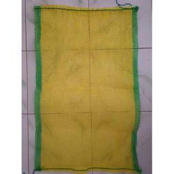 Yellow Polypropylene Leno Bag 20 X 34