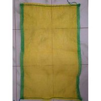 Yellow Polypropylene Leno Bag 20 X 34