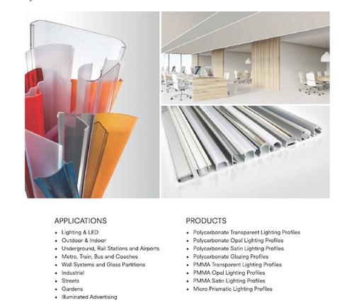 Acrylic Light Diffusion Sheet - Rudraksh Woodtech, Plot No
