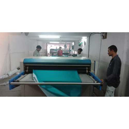 Fusing Paper Processing Work Fusing Pasting
