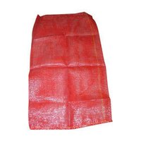 Red Polypropylene Leno Bag