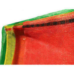 Red & Yellow HDPE Leno Bag