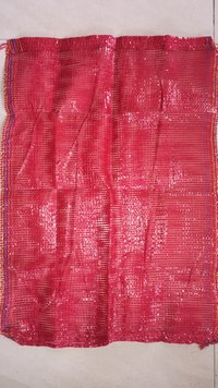 Blood Red (export Quality) Polypropylene Leno Bag 30kg