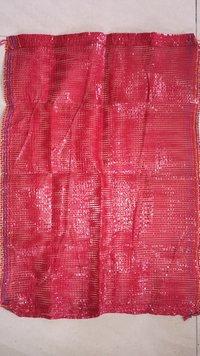 Blood Red (export Quality) Polypropylene Leno Bag 30kg