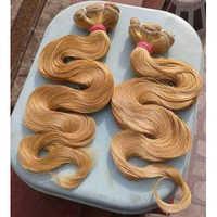Remy Blonde Body Wavy Hair