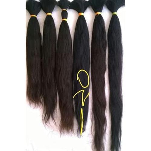 Raw Indian virgin human hair..
