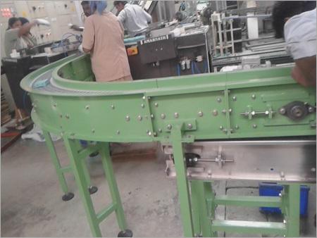 Modular Chain Curve Conveyors
