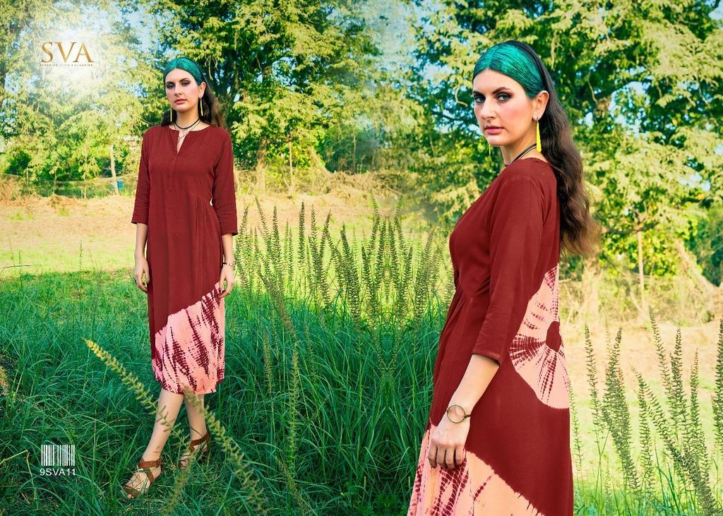 Designer Ladies Printed Kurtis