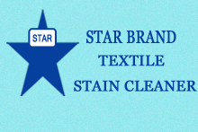 Star Brand Textile Stain Cleaner