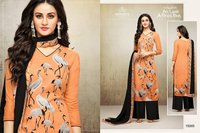 Designer Maslin Printed Suits