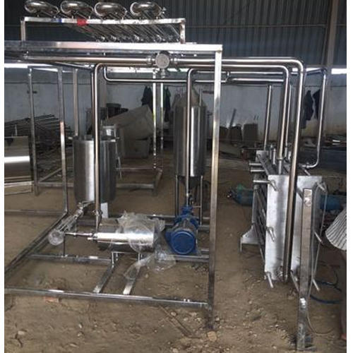 Automatic Milk Pasteurizer