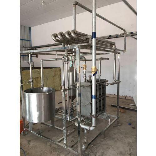 Compact Milk Pasteurizer