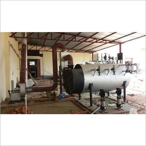 Wood Fired Milk Boiler