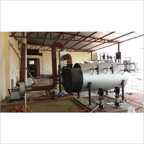 Wood Fired Milk Boiler