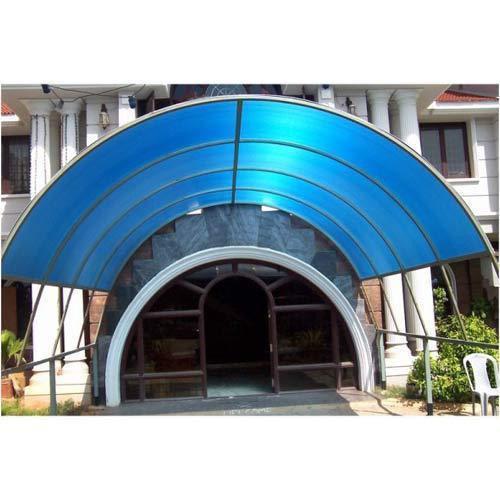 Polycarbonate Entrance Canopy