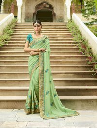 WEDDING WEAR SILK SAREE