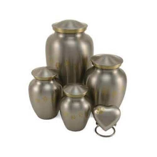 Brass Brushed Pet Urn