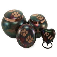 Brass Brushed Pet Urn