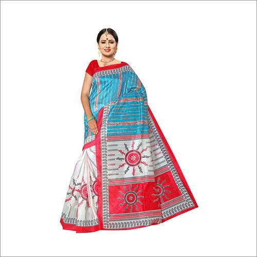 New Festive wear Bhagalpuri Designer Saree