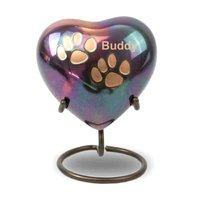 Heart Keepsake Pet Urn For Animal Ashes