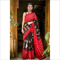Fancy Bhagalpuri Art Printed Sarees
