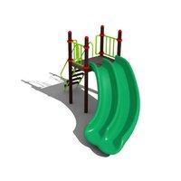 Swimming Pool Curved Slide