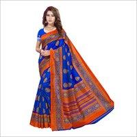 Bhagalpuri Silk Printed Sarees